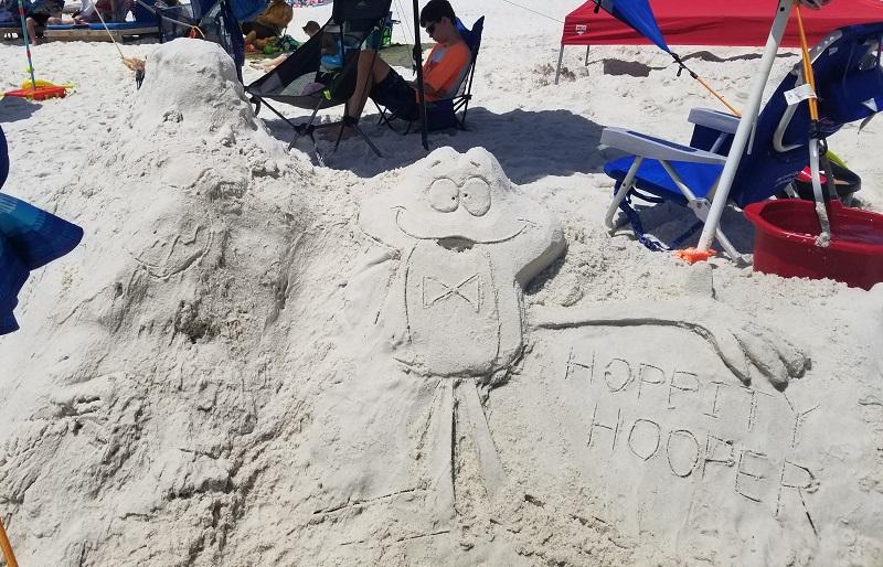 Hoppity Hooper and a sketched Waldo Wigglesworth